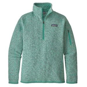 Patagonia Better Sweater 1/4 Zip Fleece (women's)
